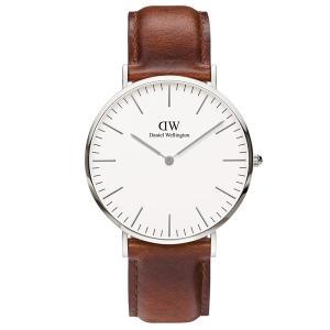 新品 2年保証 送料無料 40mm Daniel Wellington ダニエル ウェリントン 腕時計 クラシック セイント モーズ DW00100021 DW00600021 メンズ kougasyou