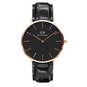 新品 2年保証 送料無料 40mm Daniel Wellington ダニエル ウェリントン 腕時計 クラシック リーディング DW00100129 DW00600129 kougasyou