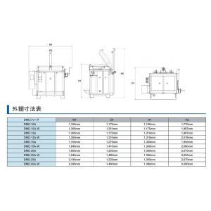 マイコン付上扉式電気窯DME-20A-Wの詳細画像2