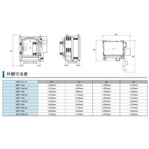 マイコン付横扉式電気窯DMT-15A-Wの詳細画像2
