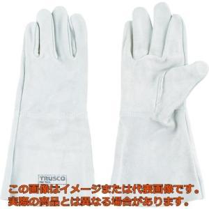 TRUSCO 溶接用5本指革手袋 TYKT5の商品画像 ナビ