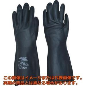 """サミテック 耐油・耐溶剤手袋""""サミテックCR−F−07"""" L ダークブルー 4489"""