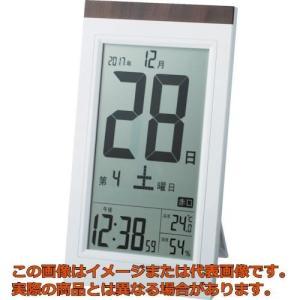 ADESSO デジタル日めくり電波時計 KW9254の関連商品1