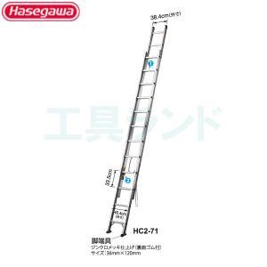 (代引不可 直送品) ハセガワ 2連はしご 7.85mタイプ HC2-81|kouguland