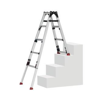 ピカ 四脚アジャスト式脚立スーパーかるノビSCN型上部操作スタッピーStapi 階段用 (1台) 品番:SCN-34 |kouguland