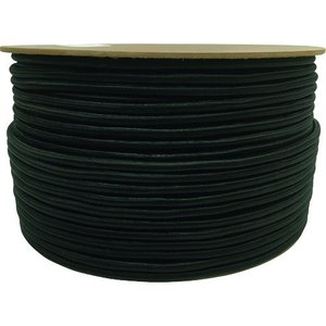 ユタカメイク タイトゴムロープドラム巻 9mm×150m ブラック (1巻) 品番:PRT-44|kouguland