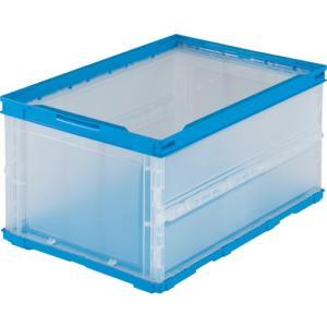 トラスコ 薄型折りたたみコンテナ 30L 透明...の関連商品2