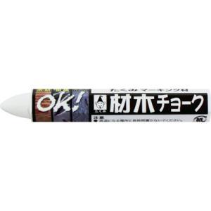 たくみ 材木チョーク 白 (24本) 品番:6212 kouguland