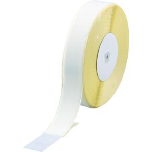 トラスコ マジックテープ 糊付A側 幅50mmX長さ25m 白 (1巻) 品番:TMAN-5025-W|kouguland