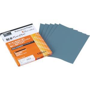 トラスコ 耐水ペーパー 228X280 #600 (100枚) 品番:TTP-600