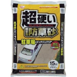 IRIS 超固まる防草砂15Kg (1個) 品番:C15-BR|kouguland