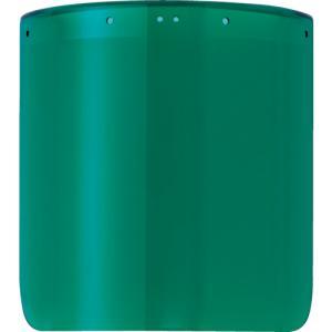 トラスコ 防災面用替レンズ グリーン (1個) 品番:TLFH-1G