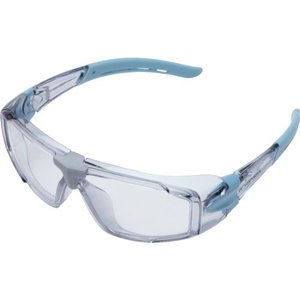 ミドリ安全 二眼型 保護メガネ (1個) 品番:VD-202FT