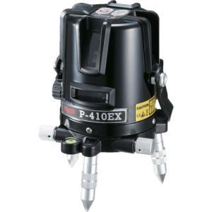 マイゾックス レーザー墨出器 P−EXシリーズ P−410EX (1台) 品番:219300|kouguland