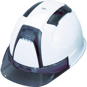 トーヨーセフティ TOYO 通気孔付きヘルメット(白) (1個) 品番:NO.390F-OTSS-W|kouguland