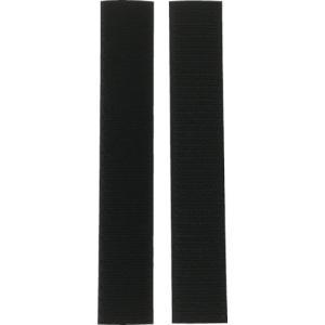 ユタカ マジックテープ アイロンワンタッチ 25mm×15cm ブラック (1個) 品番:G-86
