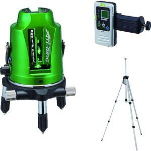 KDS グリーンレーザー墨出器ATL−D1RG受光器・三脚付 (1台) 品番:ATL-D1RGRSA|kouguland