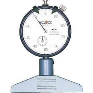 テクロック ダイヤルデプスゲージ DM-210|kouguman