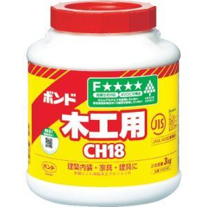 コニシ ボンド ボンド木工用 CH18 3kg(ポリ缶)    (CH18-3) kouguman