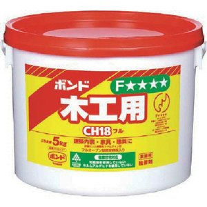 コニシ ボンド ボンド木工用 CH18 5kg(ポリ缶)    (CH18-5) kouguman
