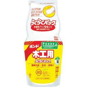 コニシ ボンド ボンド木工用 らくらくパック  1kg(ポリ袋)  (CH18-LLP1) kouguman