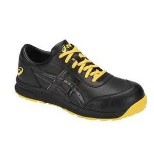 アシックス(ASICS) 安全靴 静電気帯電防止靴 ウィンジョブCP30E 1271A003.001 ブラック×ブラック CP30E 1271A003|kouguman