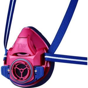シゲマツ 防じん・防毒マスク TW01SC レッド M TW01SC-RD-M   重松製作所 kouguman