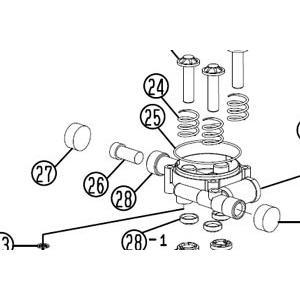 リョービ(RYOBI) 高圧洗浄機用AJP-1410用部品 吸水側キャップ 画像27番のみです kouguman