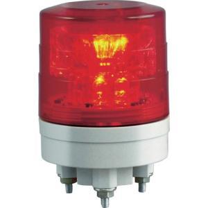 NIKKEI ニコスリム VL04S型 LED回転灯 45パイ 赤 VL04S-024NR 日惠製作所 ニッケイ|kouguman