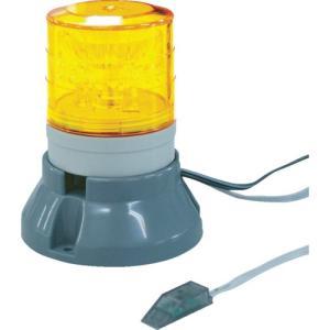 NIKKEI ニコFAX VL04S型 LED回転灯 45パイ 2段階点滅 VL04S-100FAT 日惠製作所 ニッケイ|kouguman