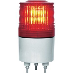 NIKKEI ニコトーチ70 VL07R型 LED回転灯 70パイ 赤 VL07R-D24NR 日惠製作所 ニッケイ|kouguman