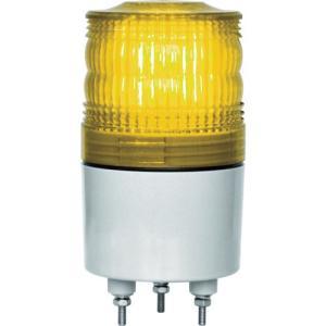 NIKKEI ニコトーチ70 VL07R型 LED回転灯 70パイ 黄 VL07R-D24NY 日惠製作所 ニッケイ|kouguman