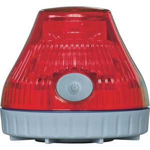 NIKKEI ニコPOT VL08B型 LED回転灯 80パイ 赤 VL08B-003DR 日惠製作所 ニッケイ|kouguman
