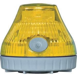 NIKKEI ニコPOT VL08B型 LED回転灯 80パイ 黄 VL08B-003DY 日惠製作所 ニッケイ|kouguman