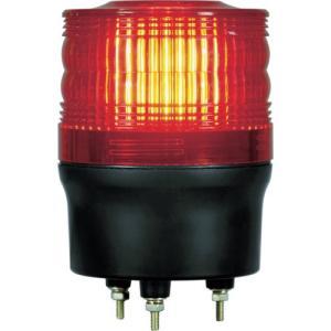 NIKKEI ニコトーチ90 VL09R型 LED回転灯 90パイ 赤 VL09R-100NR 日惠製作所 ニッケイ|kouguman