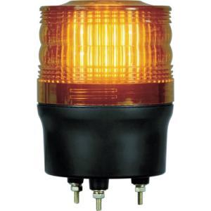 NIKKEI ニコトーチ90 VL09R型 LED回転灯 90パイ 黄 VL09R-100NY 日惠製作所 ニッケイ|kouguman