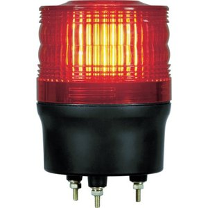NIKKEI ニコトーチ90 VL09R型 LED回転灯 90パイ 赤 VL09R-200NR 日惠製作所 ニッケイ|kouguman
