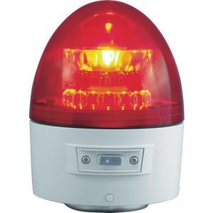 NIKKEI ニコカプセル VL11B型 LED回転灯 118パイ 赤 VL11B-003AR 日惠製作所 ニッケイ|kouguman