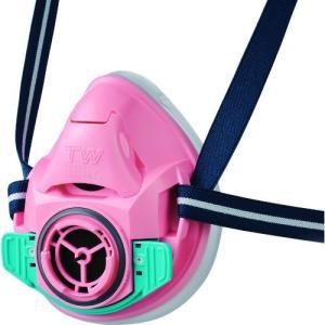 シゲマツ 防じん・防毒マスク TW01SC ピンク M TW01SC-PI-M   重松製作所 kouguman