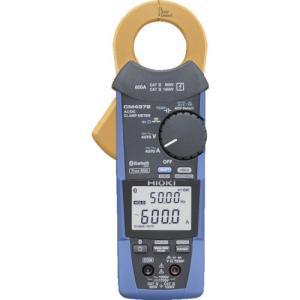 Bluetooth(R)搭載です。 電流の他、電圧、抵抗、周波数、検電など多彩な測定ができます。 突...