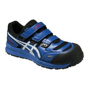 アシックス(ASICS)  安全靴(作業用靴)ウインジョブCP102 FCP102.4201 ブルーXホワイト FCP102|kouguman