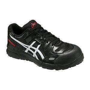 アシックス(ASICS)  安全靴(作業用靴)ウインジョブCP103 FCP103.9001 ブラックXホワイト FCP103|kouguman