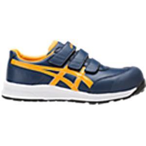 アシックス(ASICS)  安全靴 ウインジョブ FCP301.5004 インシグニアブルー×ゴールドフュージョン FCP301 CP301|kouguman