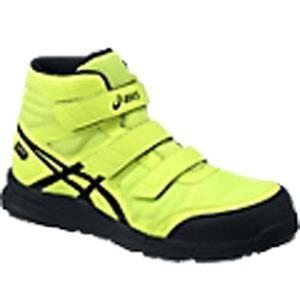 アシックス(ASICS)  安全靴(作業用靴)ウインジョブ FCP601.0790 フラッシュイエロ...