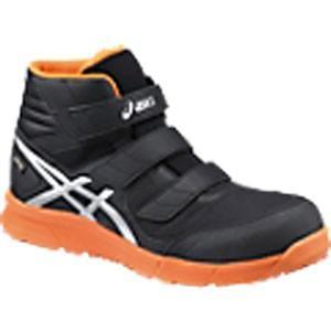アシックス(ASICS)  安全靴(作業用靴)ウインジョブ FCP601.9093 ブラックXシルバ...