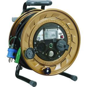 ハタヤ メタルセンサー(金属感知機能付)リール 単相100V接地付 30m MSB-301KX|kougurakuichi