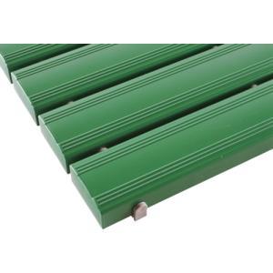 【代引不可商品】テラモト 抗菌安全スノコ(完成品)400×1800緑 MR-093-314-1|kougurakuichi