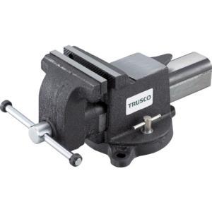 【代引不可商品】TRUSCO 回転台付アンビルバイス 125mm VRS-125N `|kougurakuichi