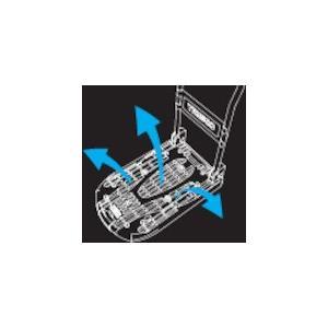 TRUSCO 樹脂台車 カルティオ 折畳 780X490 黒 MPK-720-BK _ `|kougurakuichi|02