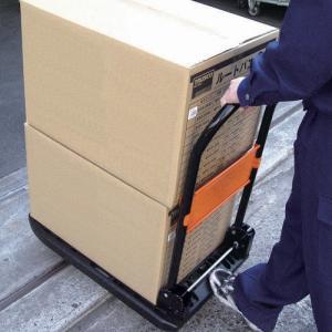 TRUSCO 樹脂台車 カルティオ 折畳 780X490 黒 MPK-720-BK _ `|kougurakuichi|04